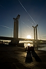 Seine de brume - Pont Flaubert